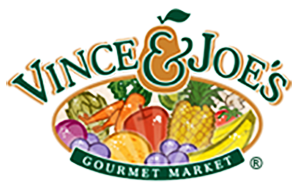 Vince and Joe's Gourmet Market logo